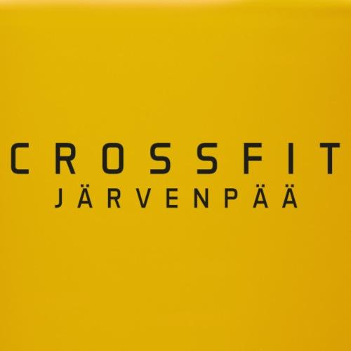 CrossFit Järvenpää mustateksti - Yksivärinen muki