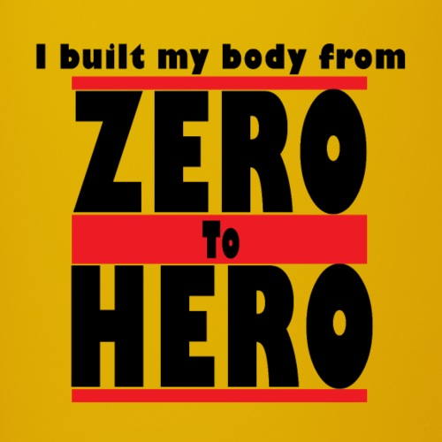Zero To Hero - Yksivärinen muki