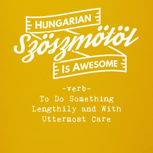 Szöszmötöl - Hungarian is Awesome (white fonts) - Full Colour Mug