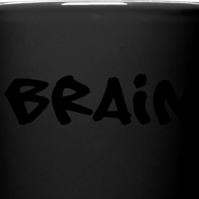 brain schriftzug