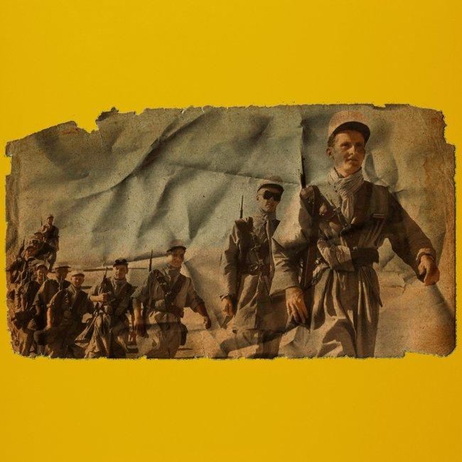 legionnaire desert jaune