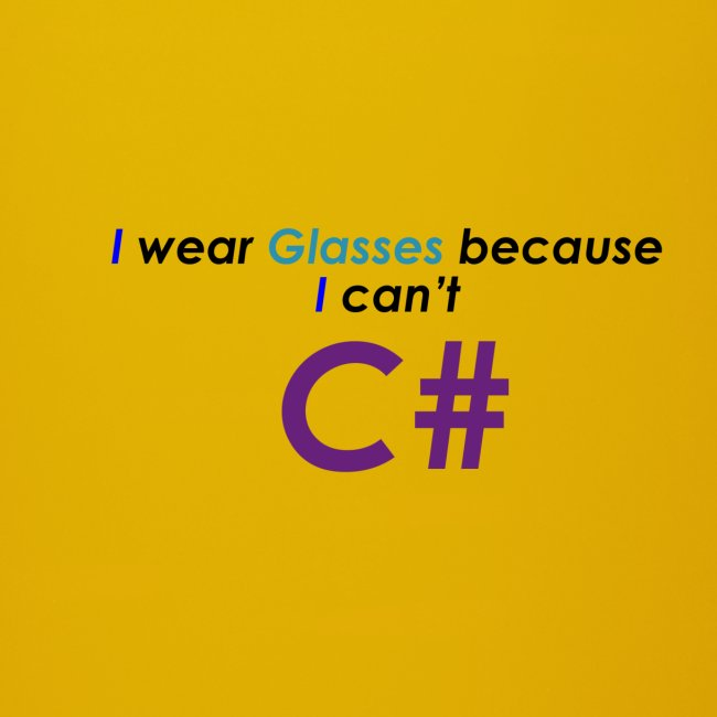 Can't C#