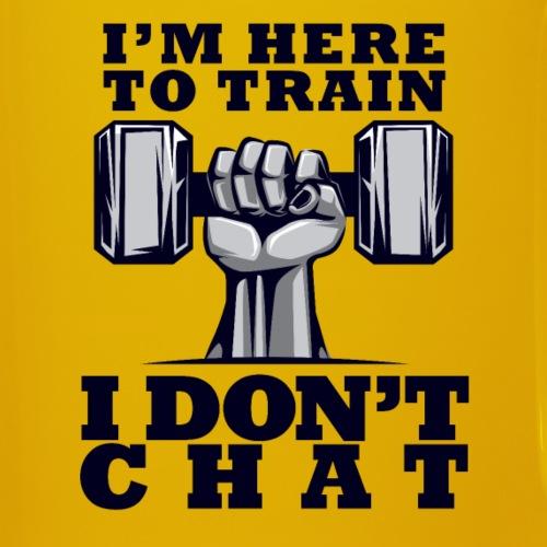 Train Chat - Yksivärinen muki