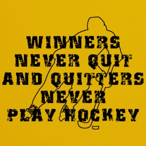 Hockey Winners Never Quit Quitters NEVER Play - Full Colour Mug