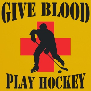 Hockey Give Blood Play Hockey - Full Colour Mug
