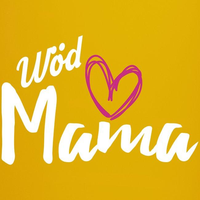 Vorschau: Wöd Mama - Tasse einfarbig