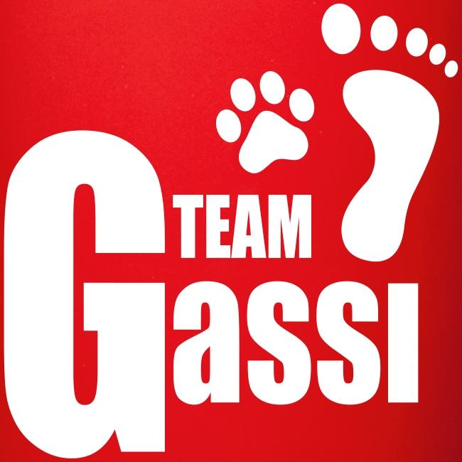 Vorschau: Team Gassi - Tasse einfarbig