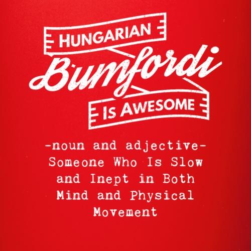 Bumfordi - Hungarian is Awesome (white fonts) - Full Colour Mug