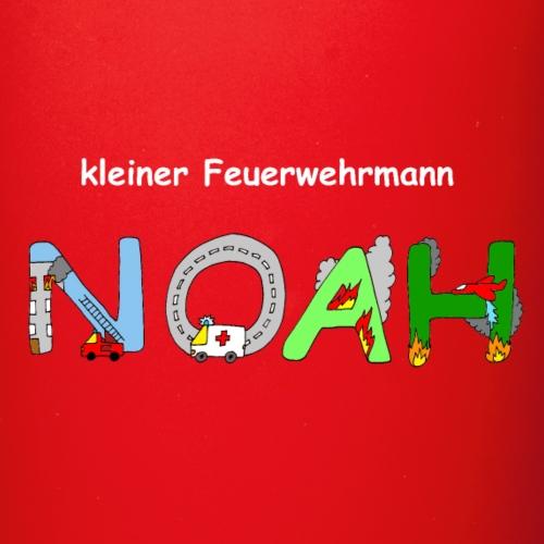Kleiner Feuerwehrmann Noah - Tasse einfarbig