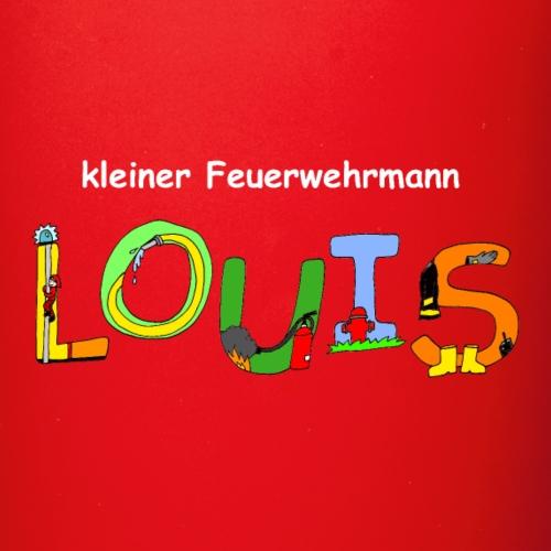 Kleiner Feuerwehrmann Louis - Tasse einfarbig