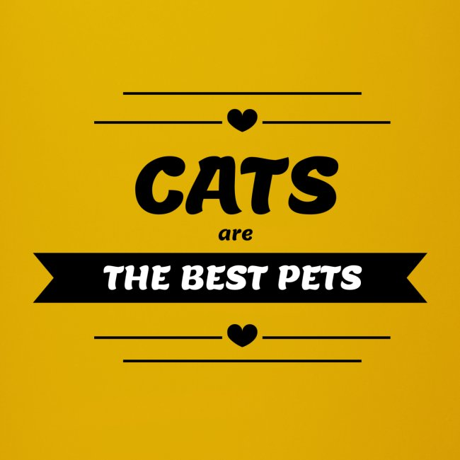 cats are the best pets