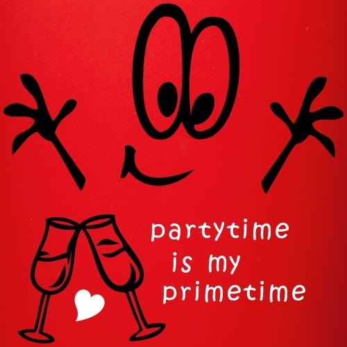 Partytime Comic Sekt Fete - Tasse einfarbig