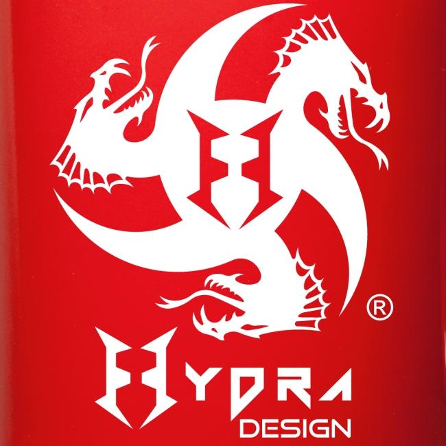 Hydra DESIGN - logo white