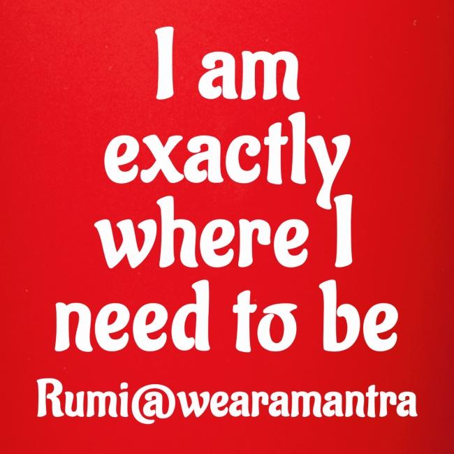 Rumi 1 white