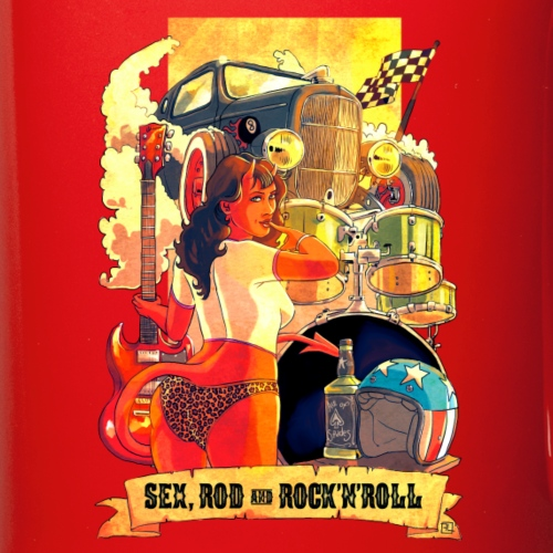 Sex, Rod & Rock'n'roll - Mug uni
