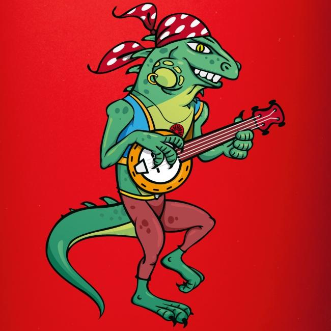 Tzigane iguane avec Banjo