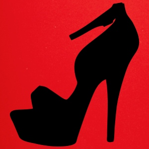 Vectoriales highheels silueta - Taza de un color