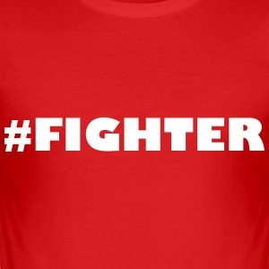 Fighter - Männer Slim Fit T-Shirt