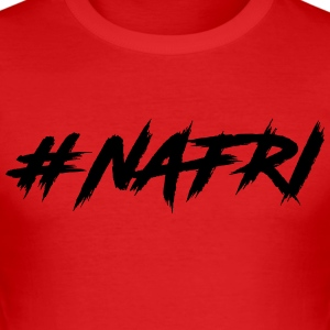NAFRI - Slim Fit T-shirt herr