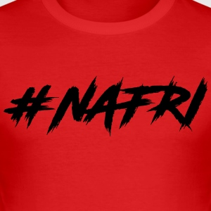Nafri - Männer Slim Fit T-Shirt