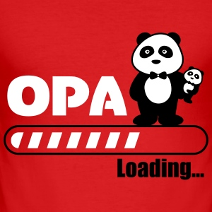 Opa lasting - Slim Fit T-skjorte for menn