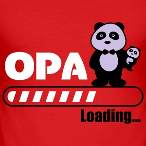 opa loading - Slim Fit T-shirt herr