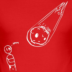 Meteor, Right? - Men's Slim Fit T-Shirt