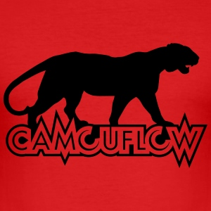 Camouflow Panther - slim fit T-shirt