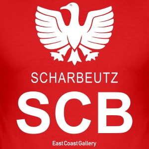 SCB Scharbeutz - Men's Slim Fit T-Shirt