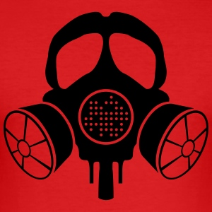 INANI double gas mask - Men's Slim Fit T-Shirt