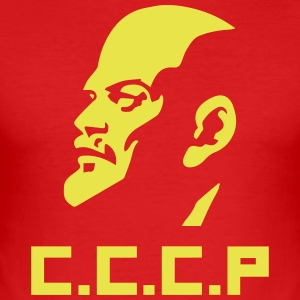 Lenin - Men's Slim Fit T-Shirt