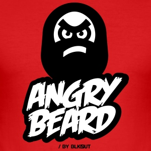 ANGRY BEARD - Men's Slim Fit T-Shirt
