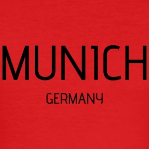Munich - Männer Slim Fit T-Shirt