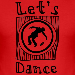 Let's Dance - Men's Slim Fit T-Shirt
