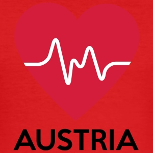 heart Austria - Men's Slim Fit T-Shirt