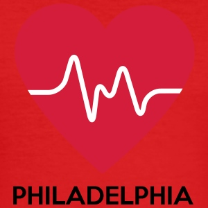 heart Philadelphia - Men's Slim Fit T-Shirt