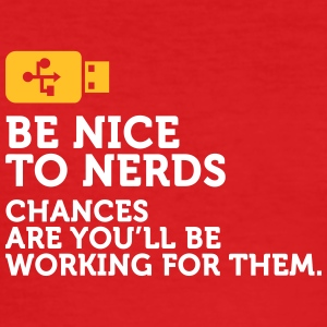 Nerds Will Rule The World! - Men's Slim Fit T-Shirt