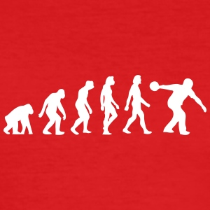 The Evolution Of Bowling - Men's Slim Fit T-Shirt