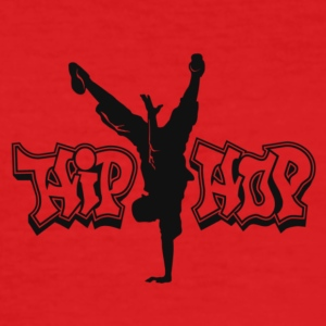 Hip Hop - Männer Slim Fit T-Shirt