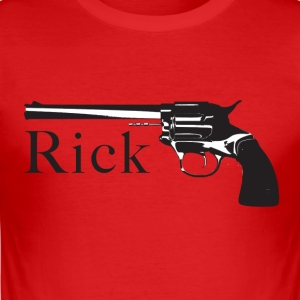 Ricks Colt - Männer Slim Fit T-Shirt