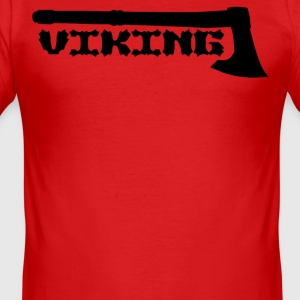 Viking axe - Männer Slim Fit T-Shirt
