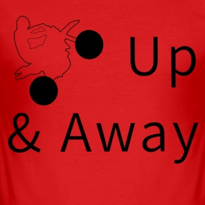 Up & Away - Männer Slim Fit T-Shirt