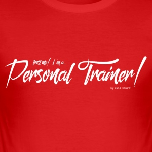PERSONAL TRAINER 01 - slim fit T-shirt