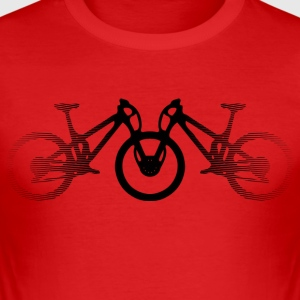 mountainbikes - Slim Fit T-shirt herr