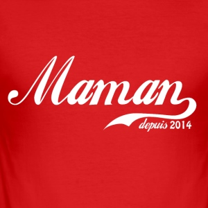 Mam sinds 2014! - slim fit T-shirt