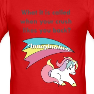 Einhorn - Imagination - Slim Fit T-skjorte for menn