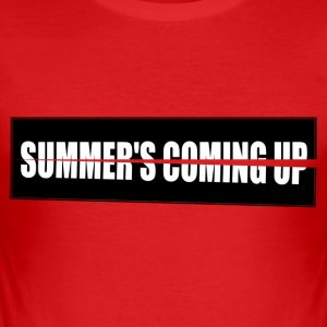 Summer s Coming up-High res - Slim Fit T-shirt herr