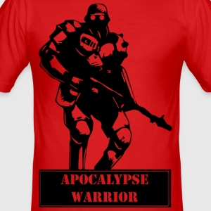 Apocalypse Warrior 2 - Slim Fit T-skjorte for menn