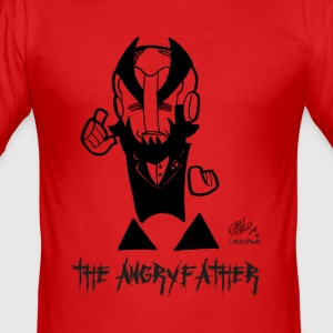 DIE ANGRYFATHER - Männer Slim Fit T-Shirt