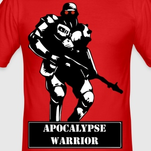 Apocalypse Warrior - Slim Fit T-shirt herr